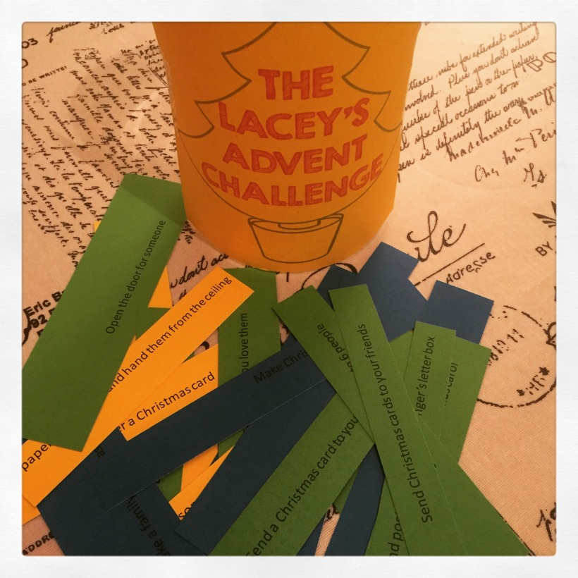 The Lacey's Advent Challenge