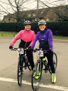 Before last year's London to Reading bike ride